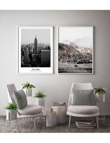 Góry śliczny Plakat Na Każdą ścianę