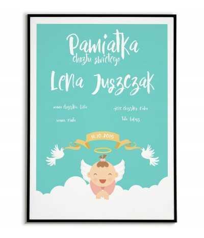 Poster baptism souvenir -...