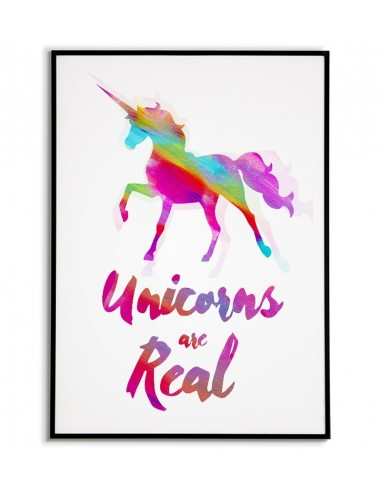 Picture on the wall with a unicorn...