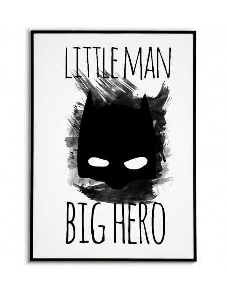 plakat dla dziecka, plakat do pokoju, plakat z batmanem, obrazek dla dziecka, grafika dla dziecka, plakaty do domu