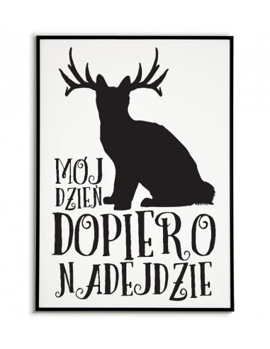 Scandinavian poster on the wall - My...