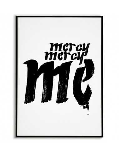 Plakat skandynawski na ścianę - Mercy...