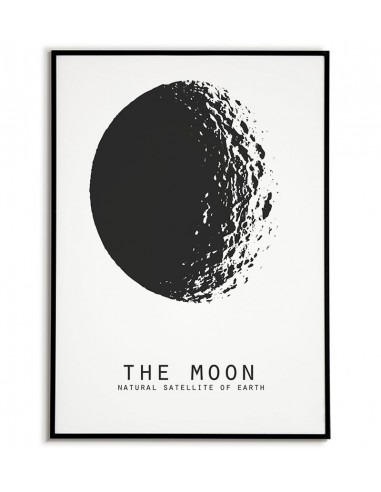 Picture on the wall - The Moon -...