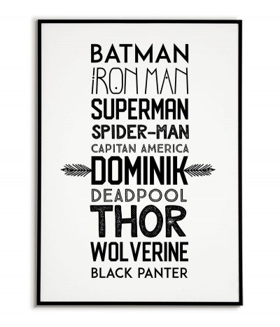 Names of superheroes with...