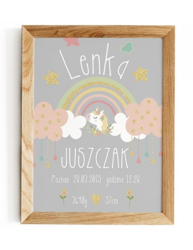 Child-friendly - Rainbow unicorn -...