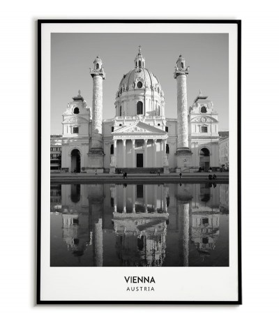 VIENNA - A poster with a...
