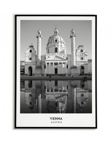 VIENNA - A poster with a photo and...