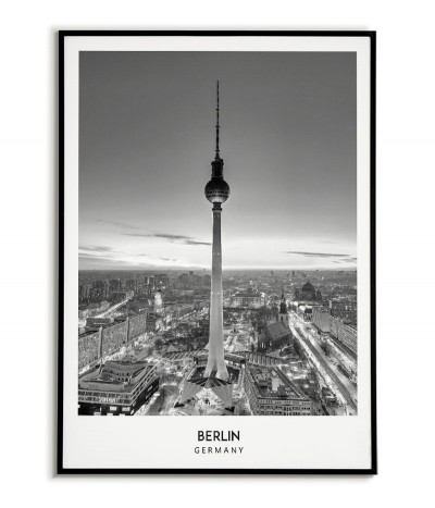 BERLIN - A black and white...