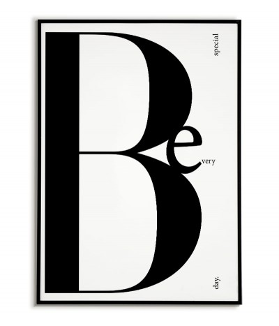 Poster - Be Special -...