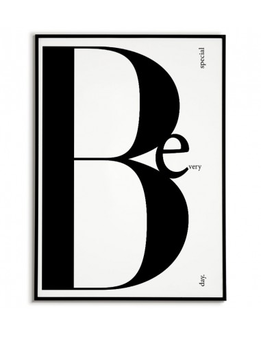 Poster - Be Special - Typographic...