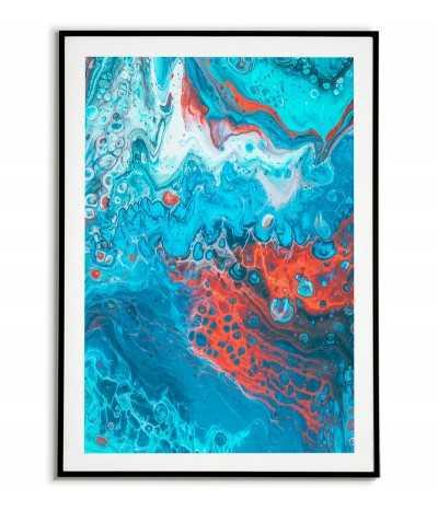 Scandinavian poster - Blue...