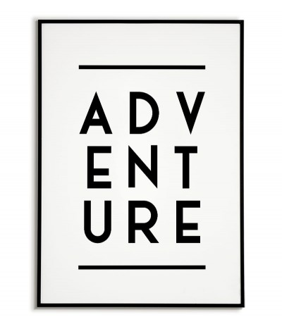 Poster, picture - ADVENTURE...