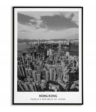 City poster - Hong Kong -...
