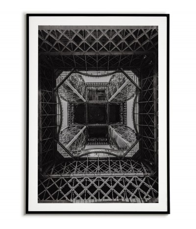 plakat, grafika do ramki z wieżą eiffla, grafika na ścianę paryż.