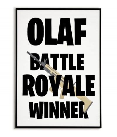 Poster, picture Battle...