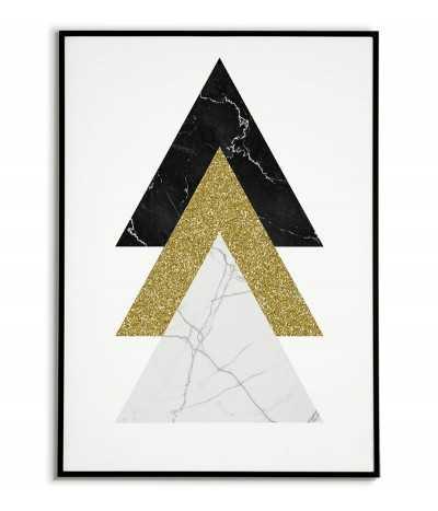 Geometric poster -...