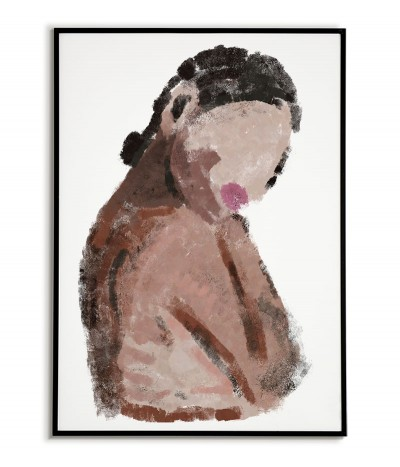 Painting of a woman -...