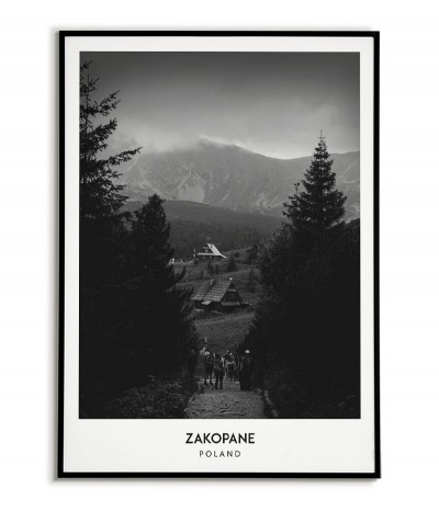 Poster City - Zakopane -...