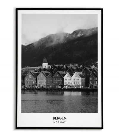 City - Bergen - Norway -...