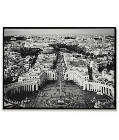 Poster Rome - St. Peter's Square - Italy, Poster with the city