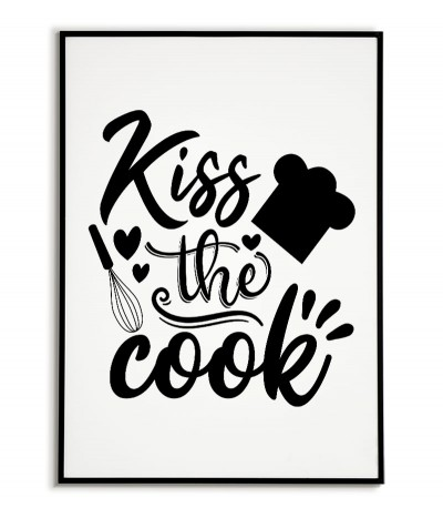 A poster for the kitchen...