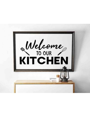 A poster, a graphic for the kitchen...