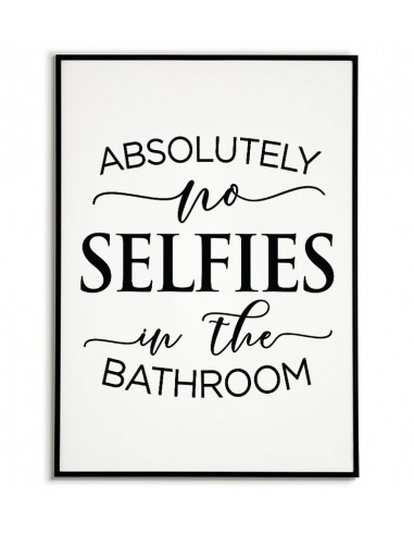 Funny poster for the bathroom that...