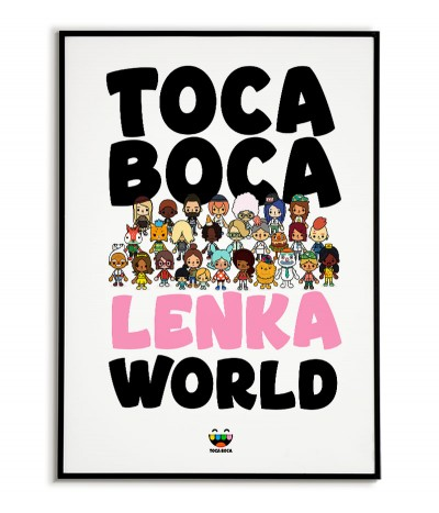 A poster from the game Toca...