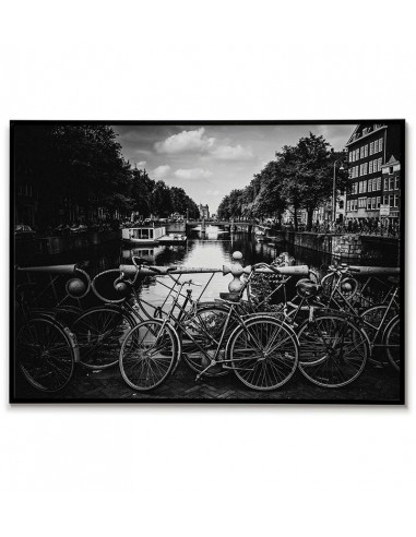 Amsterdam The Netherlands poster with...