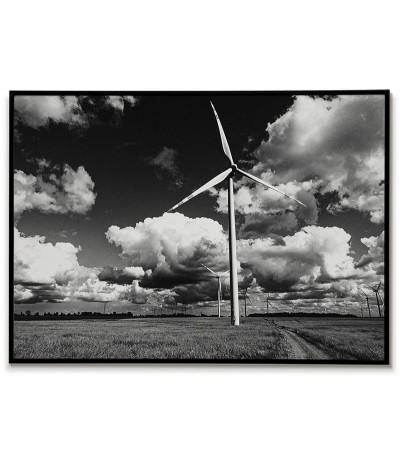 Polish land with windmills...