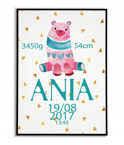 Pink bear - graphics for...