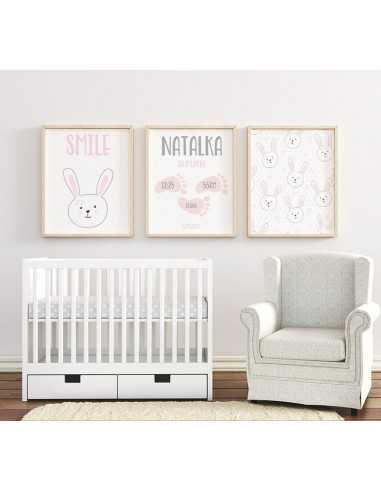 Zestaw plakatów do pokoju dziecka z...