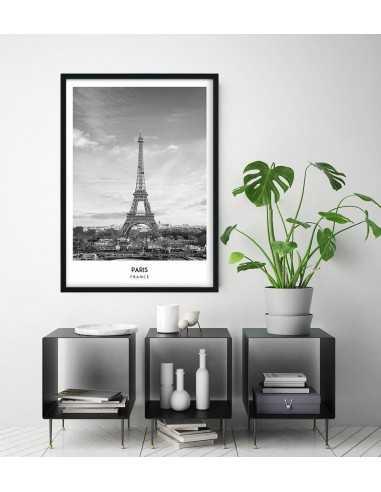 Plakat Z Miastem Paryż Francja Wieża Eiffla